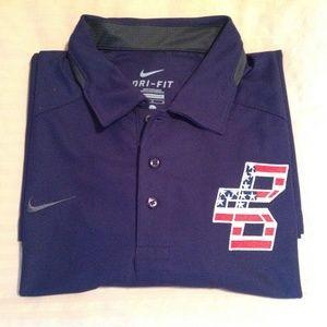 Nike Polo Dri-Fit Men's Large Boston NWT